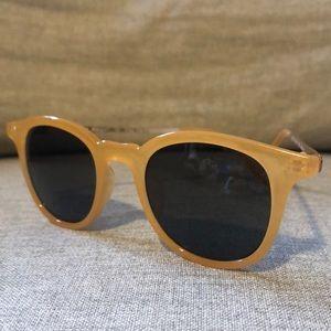 A.J. Morgan Cat Yellow Women's Sunglasses